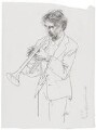 Philip Mark Jones, by Hans Erni - NPG 6536