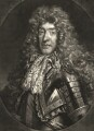 King James II, by John Smith, published by  Alexander Browne, after  Nicolas de Largillière - NPG D10650