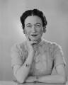 Wallis, Duchess of Windsor, by Dorothy Wilding - NPG x32663