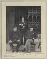 William Lundon; Michael Joseph Flavin; Patrick Aloysius M'Hugh, by Sir (John) Benjamin Stone - NPG x32701