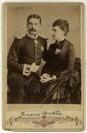 Prince Henry Maurice of Battenberg; Princess Beatrice of Battenberg, by Unknown photographer - NPG x32978