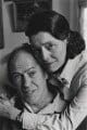 Roald Dahl; Patricia Neal, by John Benton-Harris - NPG P789
