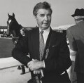 Dick Francis, by John Benton-Harris - NPG P792