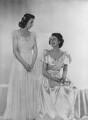 Princess Margaret; Queen Elizabeth II, by Dorothy Wilding - NPG x34344