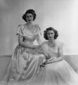 Princess Margaret; Queen Elizabeth II, by Dorothy Wilding - NPG x34346