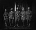 Group including Sir Bhupinder Singh, Maharaja of Patiala, by Vandyk - NPG x34597