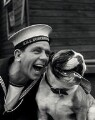 Sir Norman Wisdom as Norman Puckle in 'The Bulldog Breed', by Albert Clarke - NPG x34612