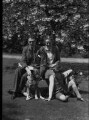 Rodney Elton, 2nd Baron Elton of Headington; Dedi Hartmann; Godfrey Elton, 1st Baron Elton of Headington, by Bassano Ltd - NPG x34692