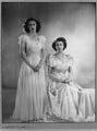 Princess Margaret; Queen Elizabeth II, by Dorothy Wilding - NPG x34836