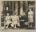 Prince Philip, Duke of Edinburgh; Queen Elizabeth II; Queen Elizabeth, the Queen Mother; King George VI; Princess Margaret, by Dorothy Wilding - NPG x34838