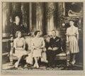 Prince Philip, Duke of Edinburgh; Queen Elizabeth II; Queen Elizabeth, the Queen Mother; King George VI; Princess Margaret, by Dorothy Wilding - NPG x34838
