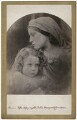 'La Madonna Aspettante' (William Frederick Gould; Mary Ann Hillier), by Julia Margaret Cameron - NPG x18071
