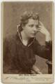 Annie Besant (née Wood), by Hayman Seleg Mendelssohn - NPG x35192