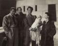 Gabriel Pascal; Basil Sydney (Basil Nugent); Stewart Granger; Vivien Leigh, by (Edward) Russell Westwood - NPG x35607