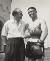 Randolph Turpin with his trainer, by (Edward) Russell Westwood - NPG x35610