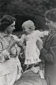 Princess Margaret; Princess Anne; Queen Elizabeth II, by Unknown photographer - NPG x35704