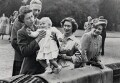 Queen Elizabeth II; King George VI; Princess Anne; Princess Margaret; Queen Elizabeth, the Queen Mother, by Unknown photographer - NPG x35706