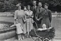 Queen Elizabeth II with her parents, her son and sister., by Unknown photographer - NPG x35708