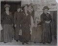 Group including Sylvia Pankhurst and Charlotte Despard (née French), by Unknown photographer - NPG x35726