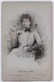 Fanny Moore (Mrs W.H. Buckley), by Herbert Rose Barraud - NPG x36211