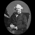Granville George Leveson-Gower, 2nd Earl Granville, by York & Son, after  Elliott & Fry - NPG x3643