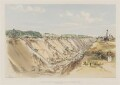 Tring Cutting, June 17th 1839, by John Cooke Bourne - NPG D1391