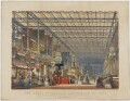 The Great Industrial Exhibition of 1851. Plate 3. The British Nave., by Joseph Nash - NPG D10670