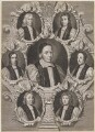 The Seven Bishops Committed to the Tower in 1688, by Robert White - NPG D1333