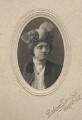Florence Emily Hardy (née Dugdale), by Rodway Gardner - NPG x3693
