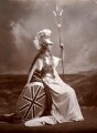Edith Amelia (née Ward), Lady Wolverton as Britannia, by Lafayette (Lafayette Ltd) - NPG x88532