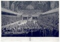 'A View of the Tryal of Warren Hastings Esqr. before the Court of Peers', by Robert Pollard, by  Francis Jukes, after  Edward Dayes - NPG D10671