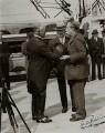 James Henry Thomas; Fred Woolley; Stanley Baldwin, 1st Earl Baldwin, by Keystone View Company - NPG x371
