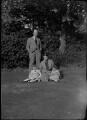 Alec Waugh; Andrew Alexander Waugh; Joan Waugh (née Chirnside); Veronica Keeling (née Waugh), by Bassano Ltd - NPG x37309