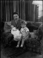 Lord Glentoran with his son and daughter, by Bassano Ltd - NPG x37412