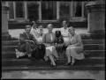 The Courtenay family, by Bassano Ltd - NPG x37465
