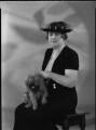 Constance Sibell Ashley-Cooper (née Grosvenor), Countess of Shaftesbury, by Harry Hammond, for  Bassano Ltd - NPG x37497