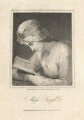 Serena Reading (possibly Charlotte Sargent (née Bettesworth); formerly called Honora Edgeworth (née Sneyd)), by James Hopwood Sr, published by  Vernor, Hood & Sharpe, after  George Romney - NPG D10675