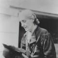 Virginia Woolf, by Barbara Strachey (Hultin, later Halpern) - NPG Ax88536