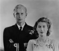 Queen Elizabeth II; Prince Philip, Duke of Edinburgh, by Dorothy Wilding - NPG x38008