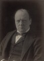 Winston Churchill, by Edward Russell, for  James Russell & Sons - NPG x38181