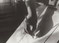 Paul Nash's hand, by Ramsey & Muspratt - NPG x38794
