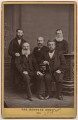 'The Mentone Group' (including Charles Haddon Spurgeon), by Passmore & Alabaster - NPG x38839