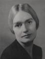 Patricia Frances (née O'Flynn), Lady Strauss, by Bertl Sachsel - NPG x38844