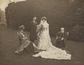 Mary Hodgson Trotter (née Gillett); Reginald Cecil Powys-Lybbe; Lilian Powys-Lybbe (née Trotter); Henry Eden Trotter (né Brown), by (Arthur) Walton Adams - NPG x38853
