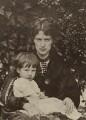 Michael Stillman; Marie Stillman (née Spartali), by Unknown photographer, printed by  Emery Walker Ltd - NPG x38857