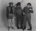 Diana Clarke; Barry Fantoni; Willie Rushton, by Lewis Morley - NPG x38948