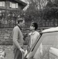 Sean Hepburn Ferrer; Melchior Gaston ('Mel') Ferrer; Audrey Hepburn, by Cecil Beaton - NPG x40187