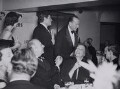Group including Cecil Beaton, Noël Coward, Greta Garbo and Lord David Cecil, by Fox Photos Ltd - NPG x40456