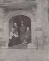 Catherine Gladstone (née Glynne); William Ewart Gladstone; Queen Alexandra; King Edward VII, by George Watmough Webster & Son - NPG x4072