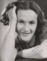 Barbara Mullen, by Gordon Anthony - NPG x40996